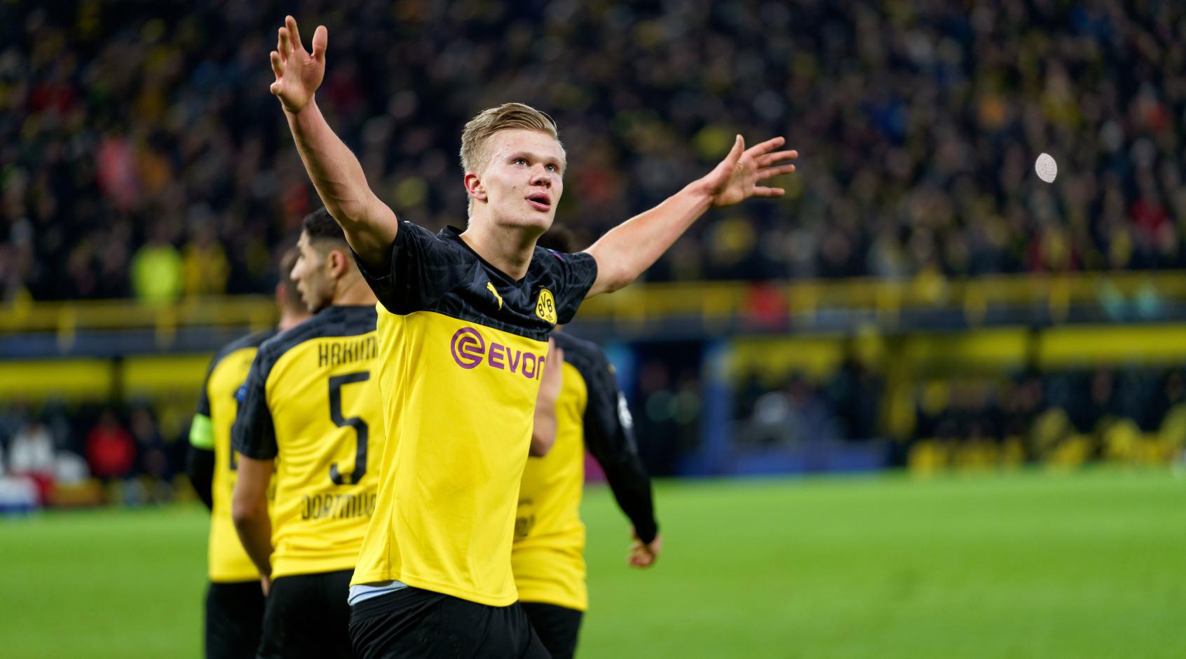 Холанд - первый игрок младше 21 года, забивший более 40 голов в топ-5 лигах Европы с 1997 года