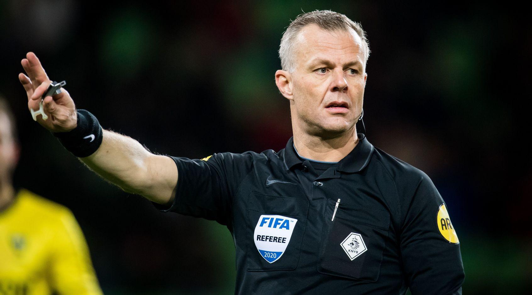Бьорн Кейперс заявил о намерении завершить карьеру арбитра после матча Суперкубка Нидерландов