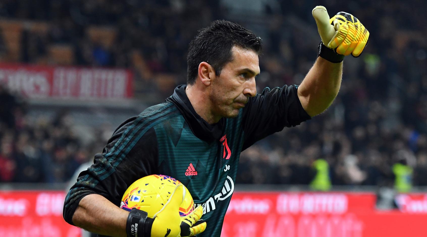 Буффон дисквалифицирован на один матч Серии А за богохульство