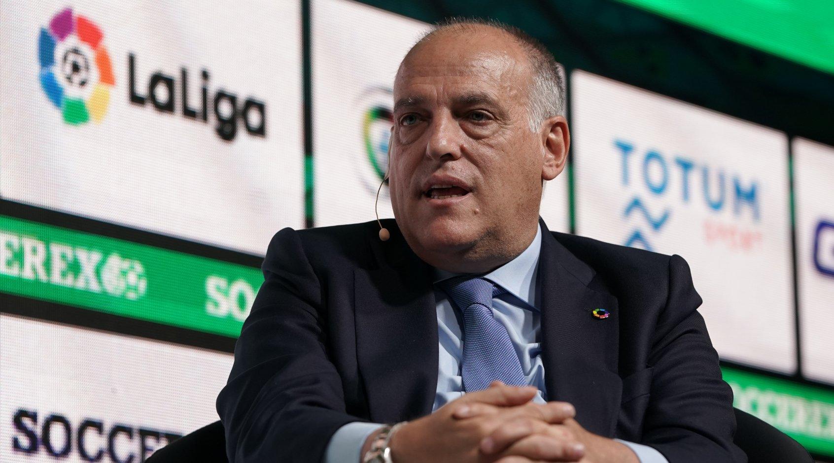 """Хавьер Тебас: """"Убытки Ла Лиги составят 700 миллионов евро, если не доиграть оставшиеся матчи"""""""