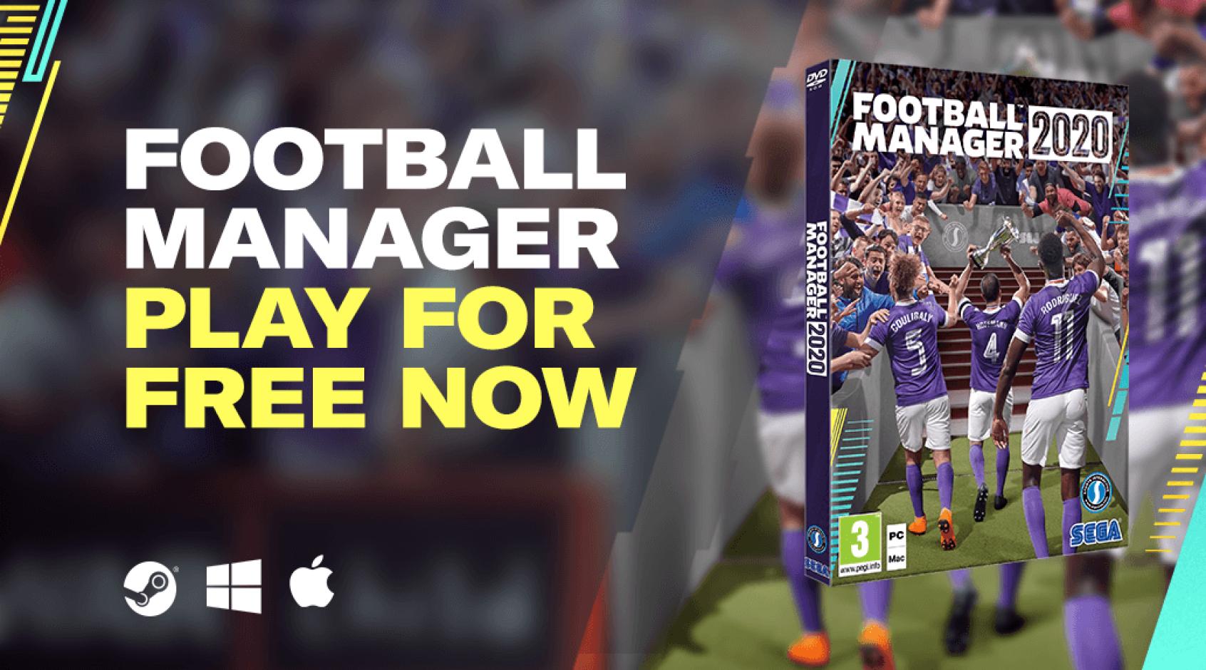 """Популярная игра """"Football Manager 2020"""" доступна в бесплатном режиме"""
