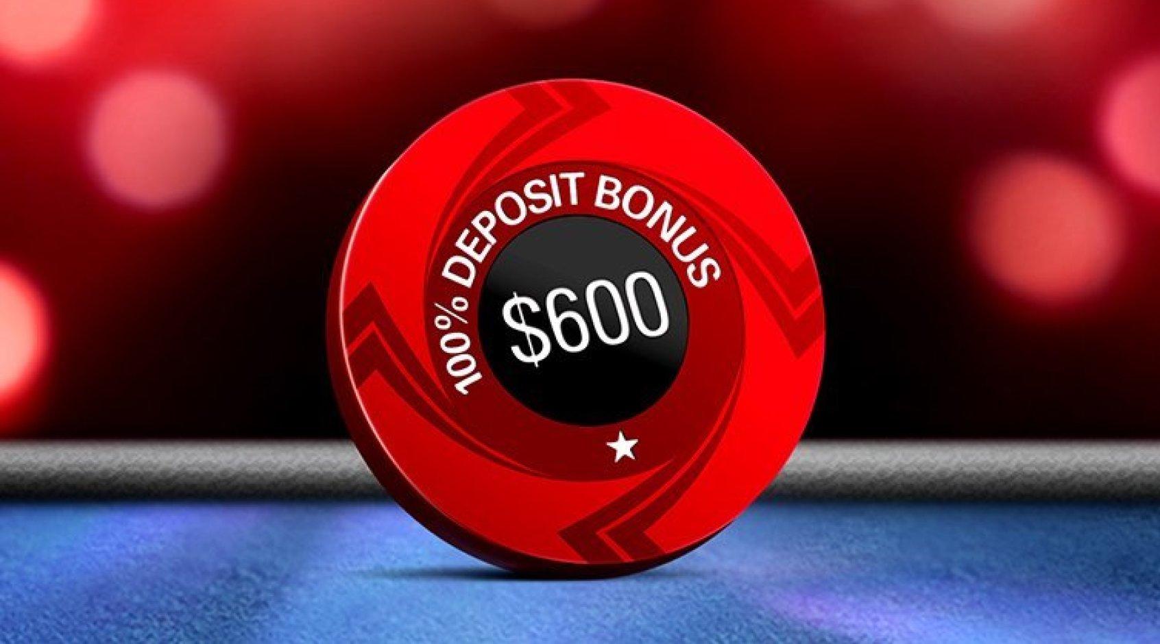 PokerStars отменяет бонус на первый депозит 600$