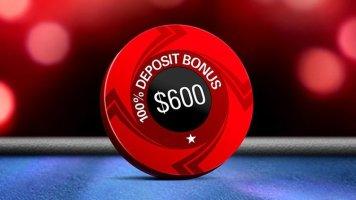 Акция от PokerStars: бонус 100% за первый депозит