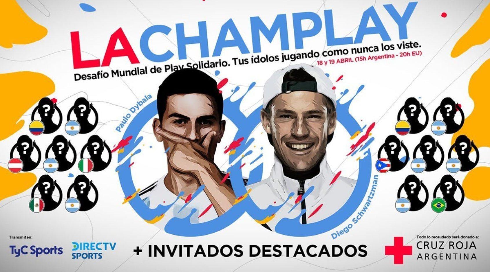 Киберфутбол. FIFA 20. #LaChamPlaySolidaria. Вторая часть турнира. Прямая трансляция