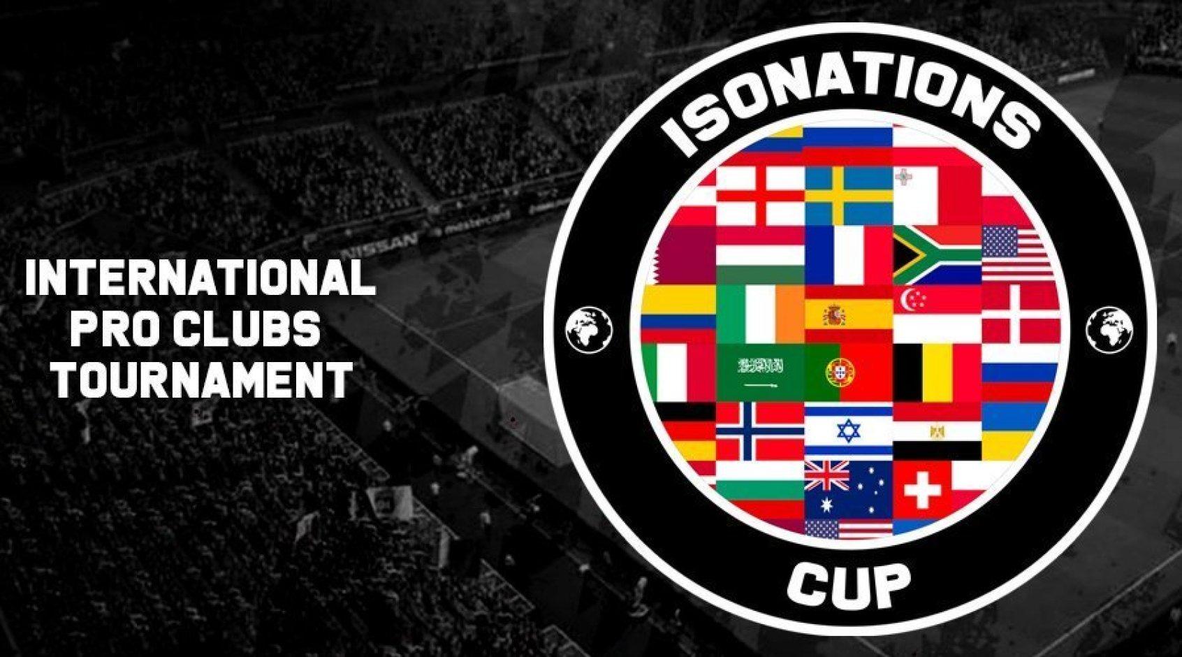 Киберфутбол. IsoNations Cup. Украина сыграет против поляков, венгров и бельгийцев