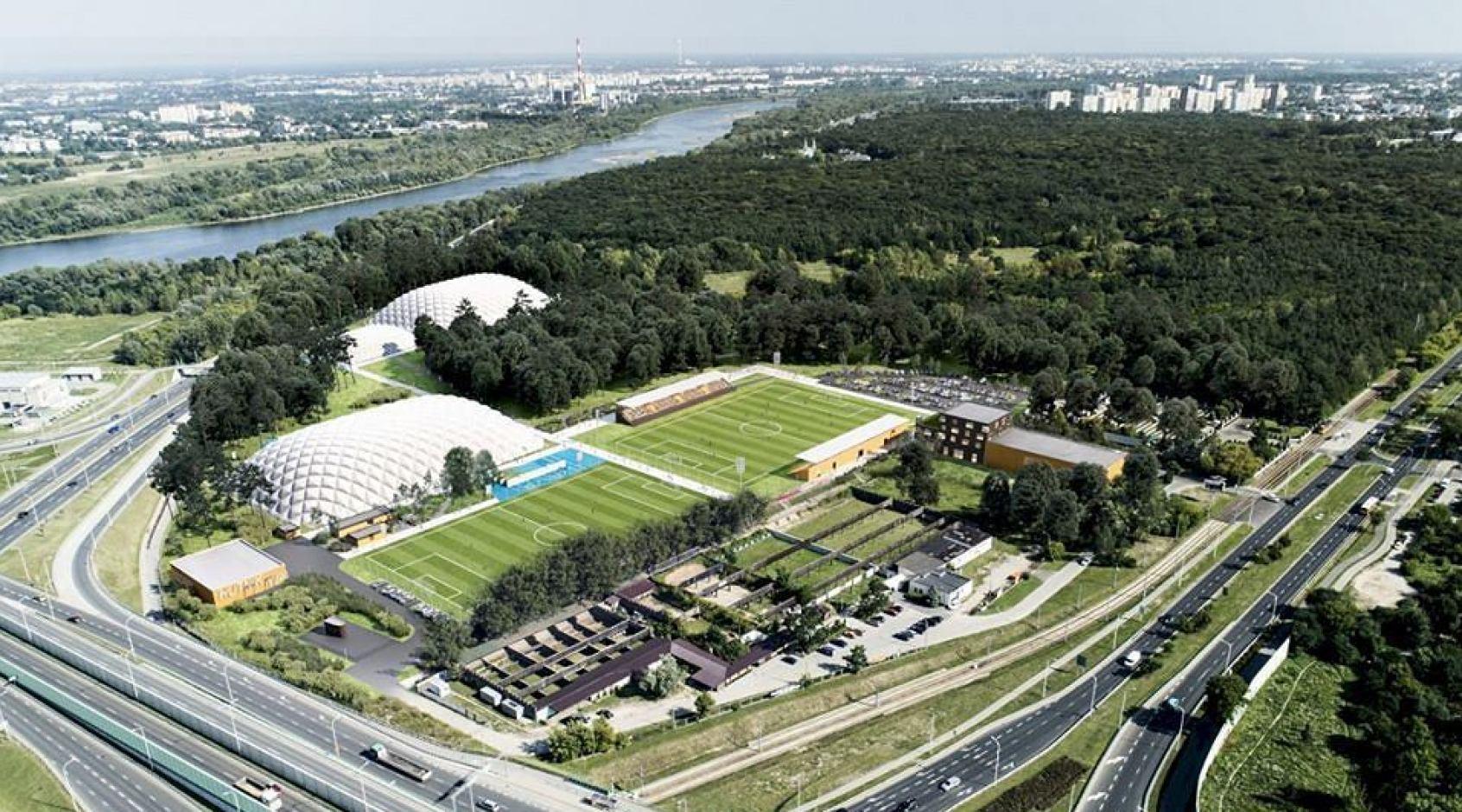 В Варшаве построят еще один современный стадион