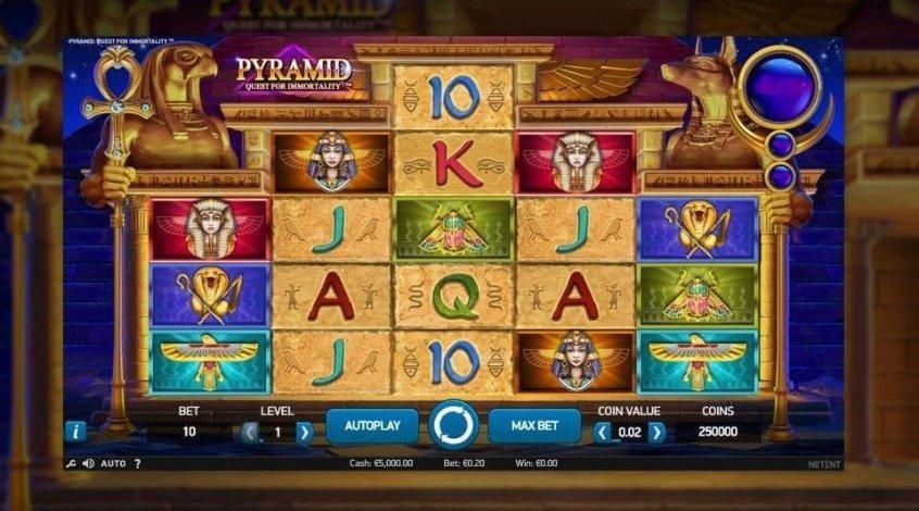 Игровой автомат Pyramid (Пирамида)