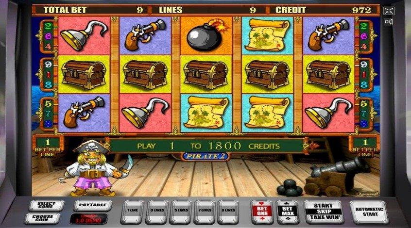 Игровой автомат Пираты