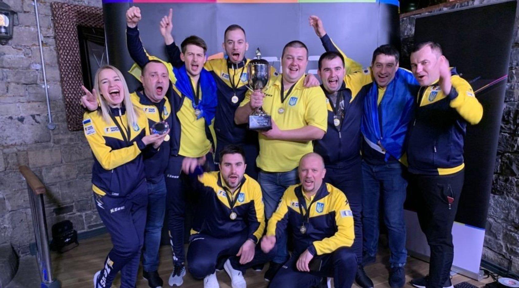 Сборная Украины — чемпион мира по матч-покеру