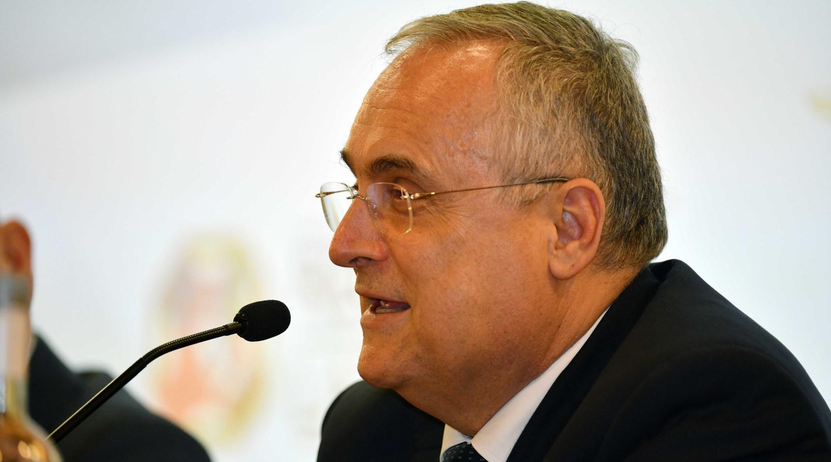 """Президента """"Лацио"""" обвинили в уклонении от уплаты налогов"""