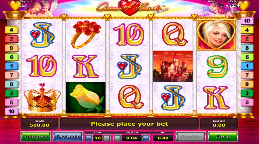 Игровой автомат Queen of Hearts Deluxe
