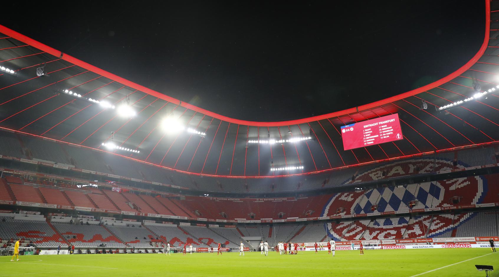 Власти Баварии разрешили проводить матчи Евро-2020 в Мюнхене со зрителями