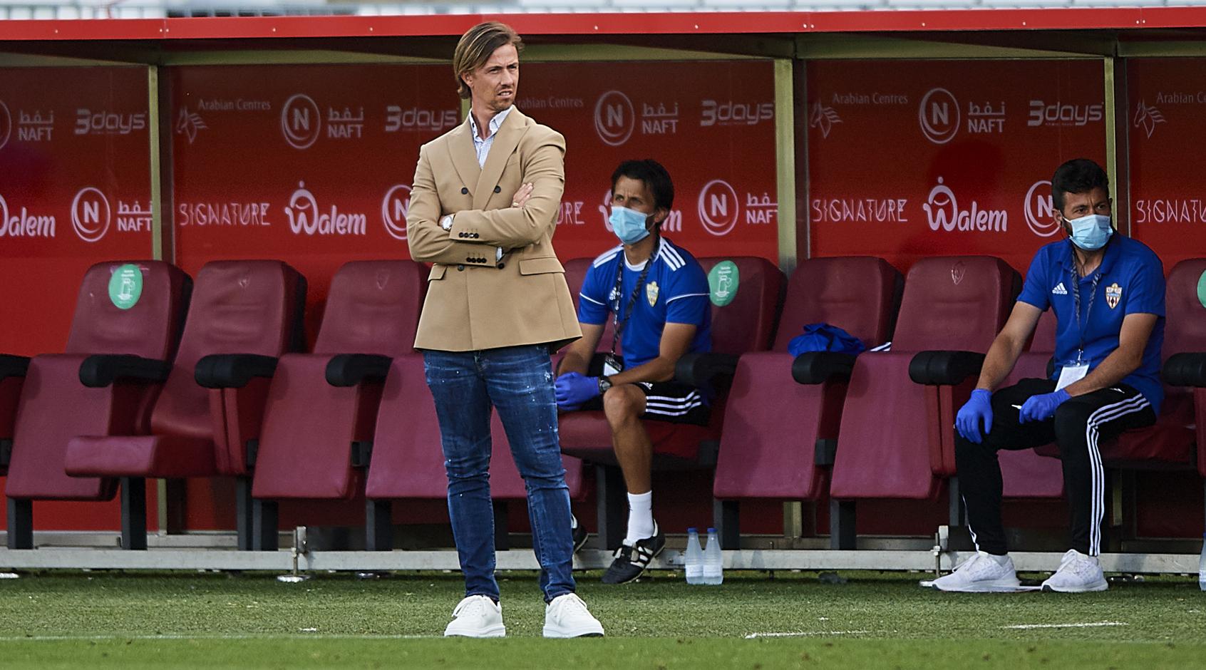"""""""Альмерия"""" уволила Гути, хотя команда идет на третьем месте"""