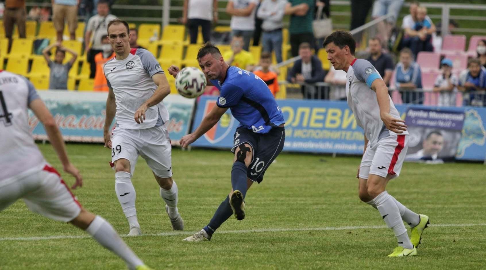 Артем Милевский – лучший игрок 16-го тура чемпионата Беларуси по оценке InStat
