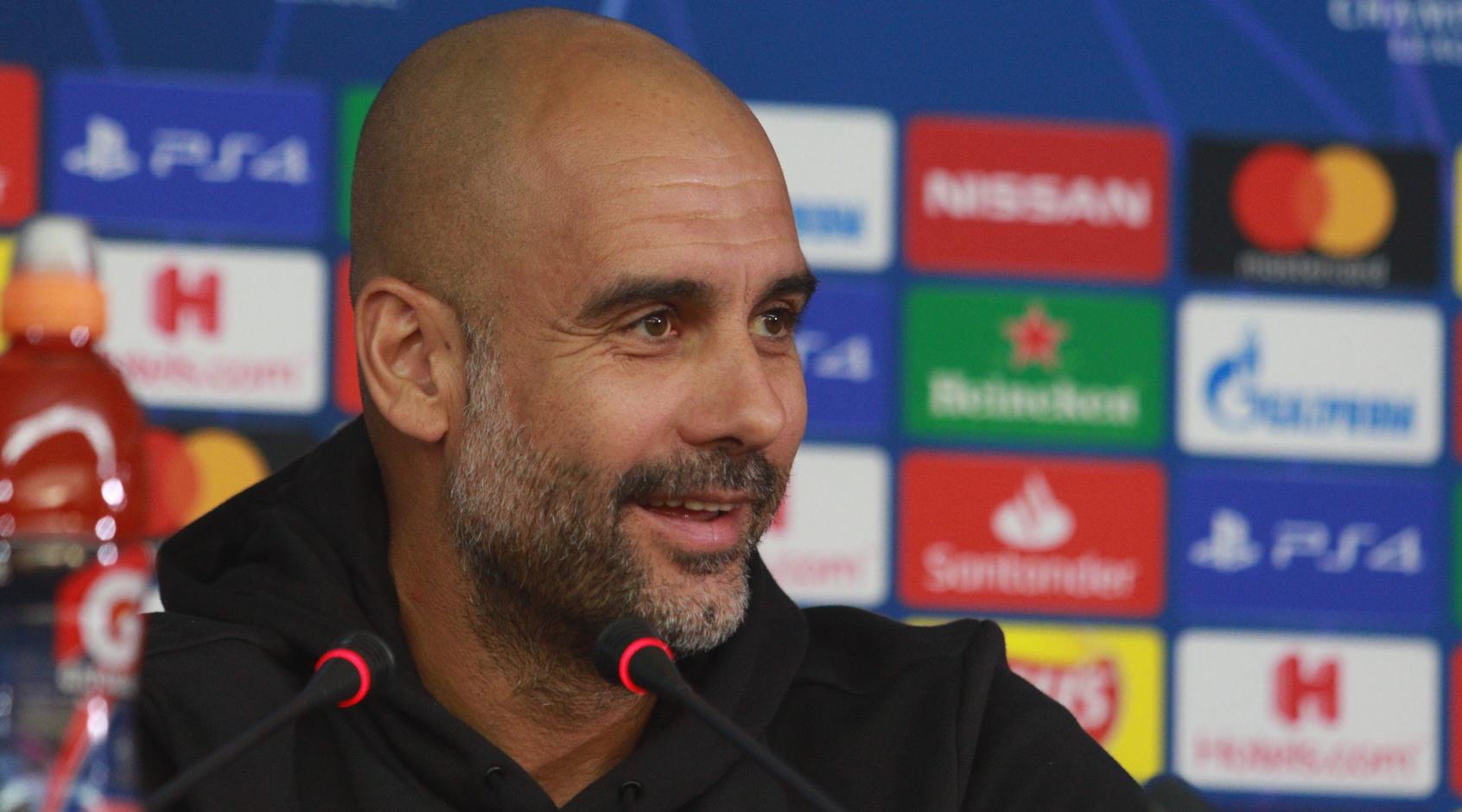 """Хосеп Гвардиола: """"Манчестер Сити"""" был великолепен, за исключением первых 10 минут"""""""