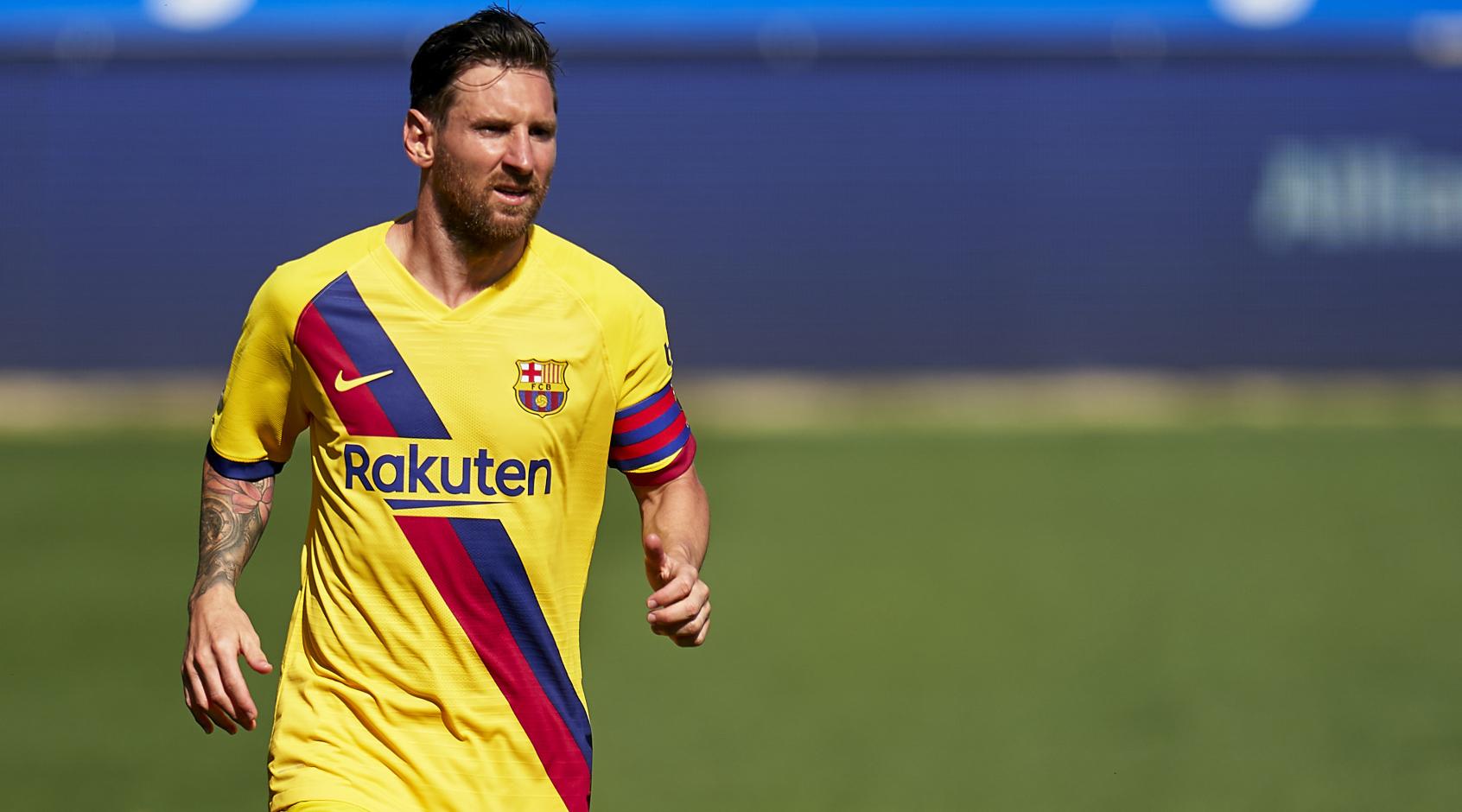 """""""Барселона"""" показала первый гол Лионеля Месси в 2021-м - после возвращения в строй"""