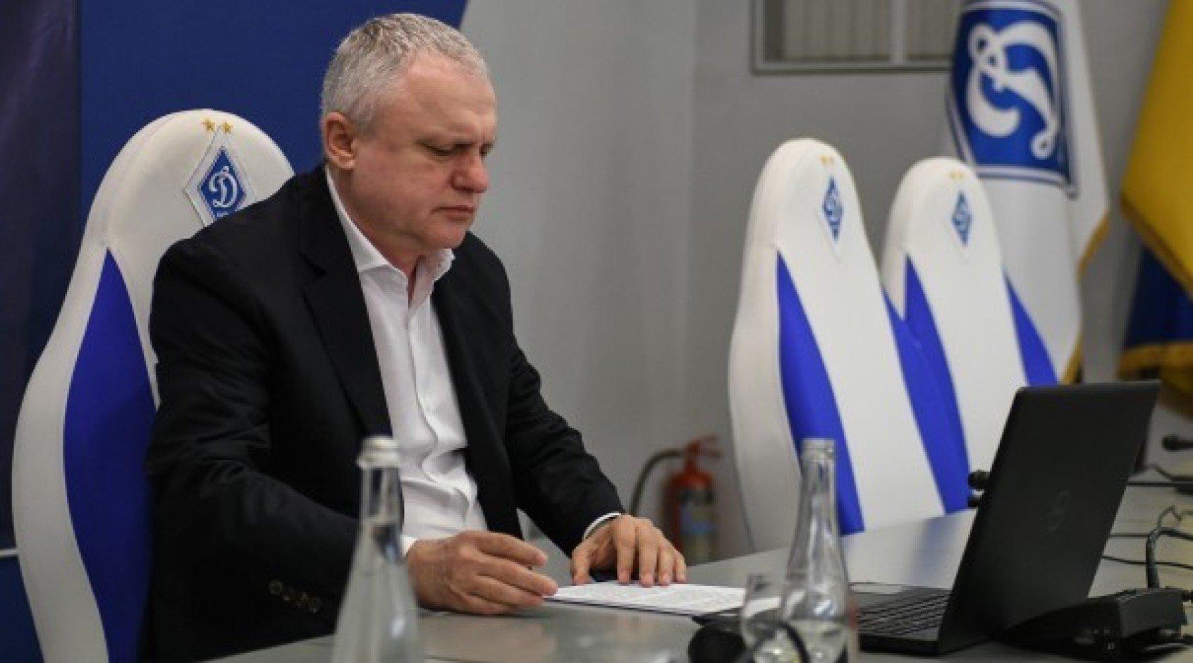 """Игорь Суркис: """"На тех, кто что-то пытается продемонстрировать, ни я, ни Луческу не обращаем внимания"""""""