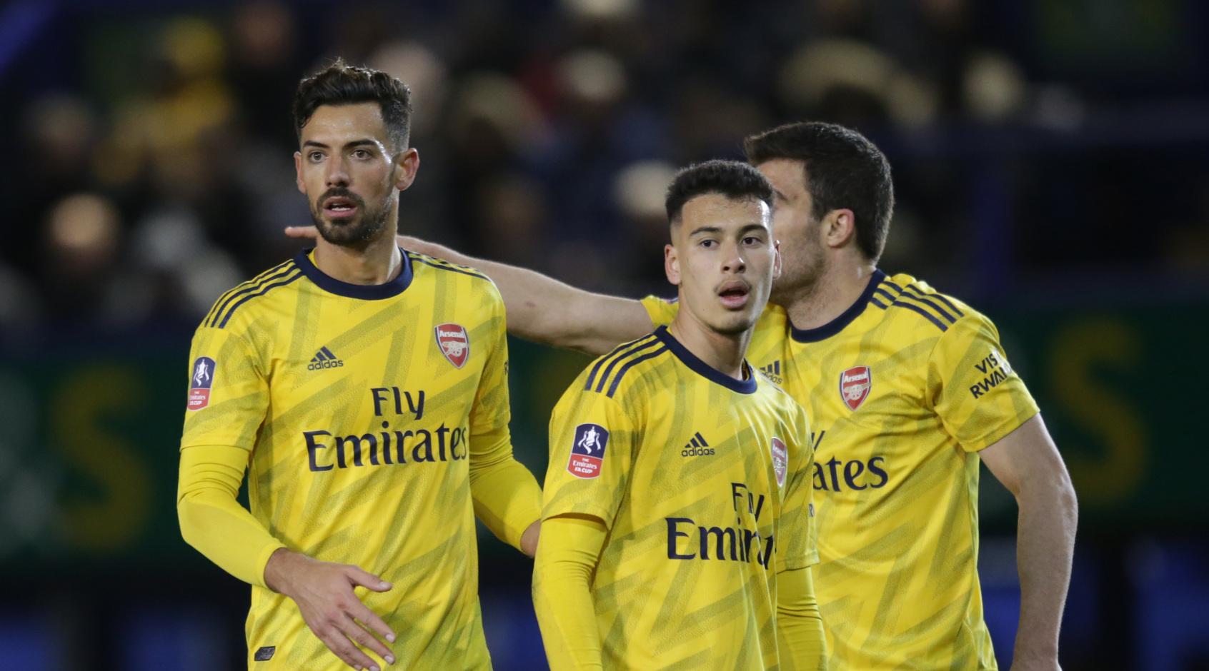 """""""Арсенал"""" назвал сроки восстановления травмированных Мартинелли и Мари"""