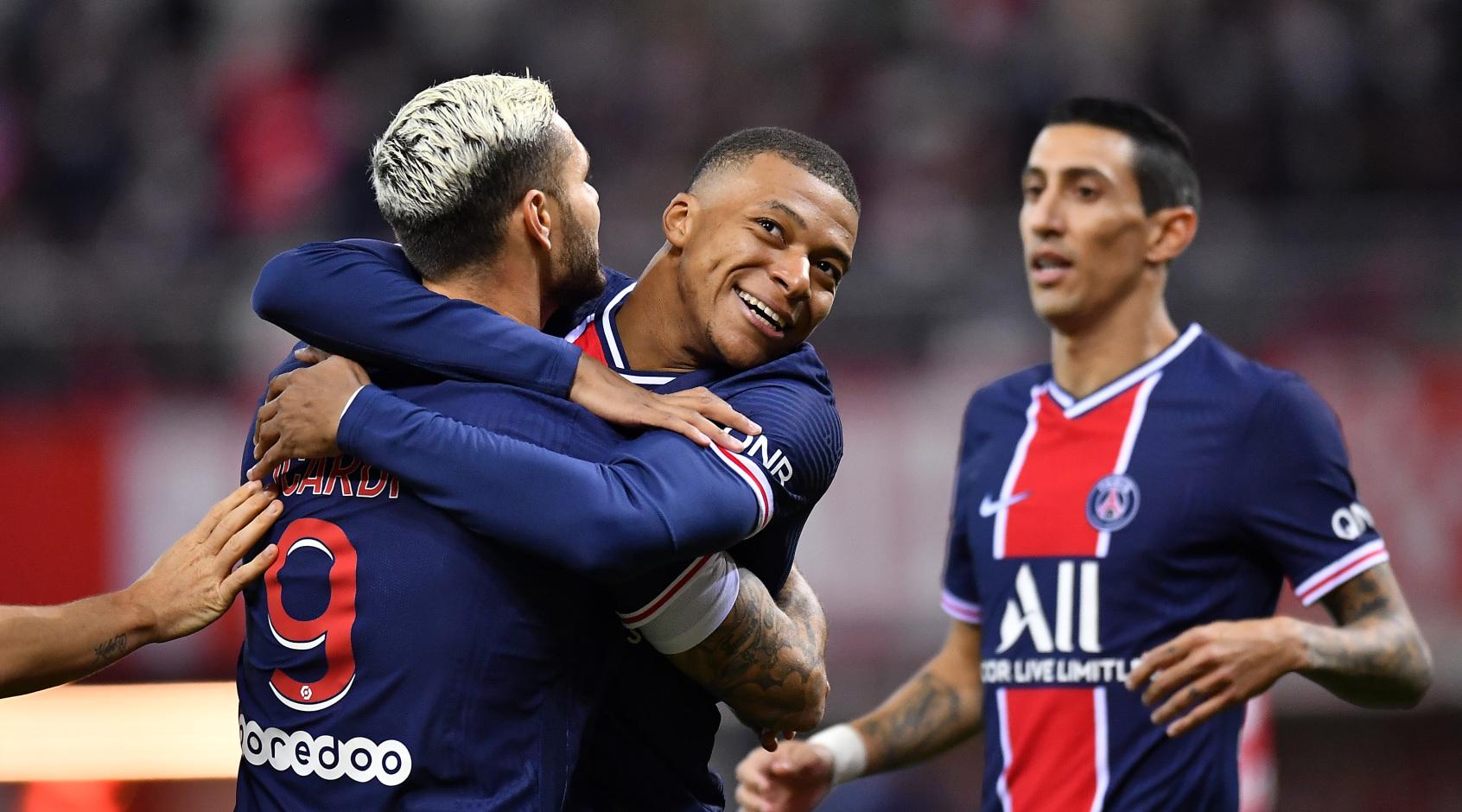 Мбаппе и Неймар - в списке кандидатов на звание лучшего игрока чемпионата Франции сезона-2020/21