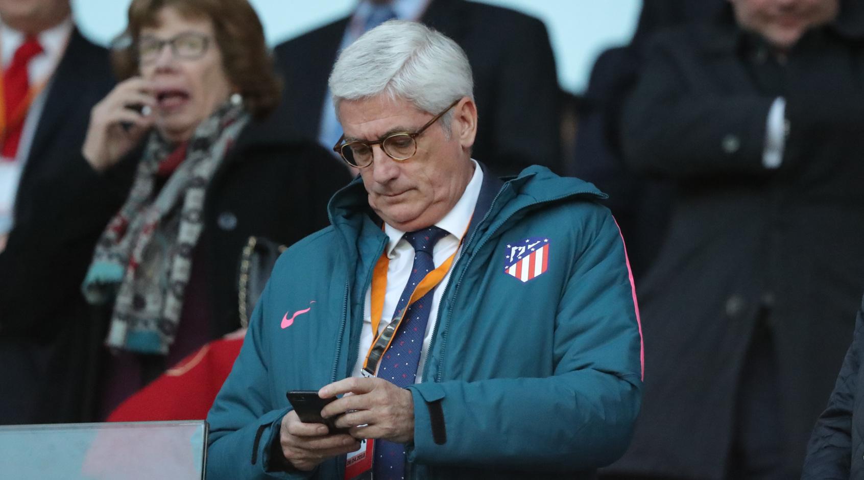 """Президент """"Атлетико"""": """"Насколько я знаю, мы не ведём переговоры с """"Барселоной"""" по поводу Гризманна"""""""