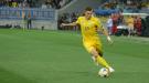 Украина - Финляндия 1:1. Прямая красная карточка Виталия Миколенко (Видео)