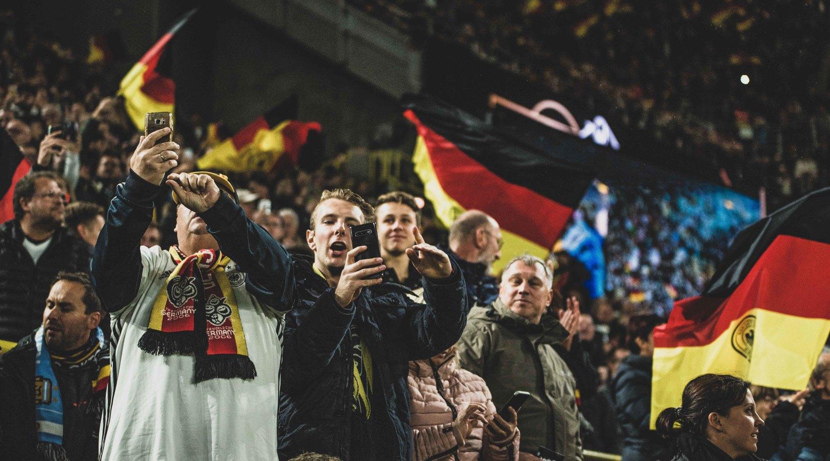 """Немецкие болельщики: """"Это не Украина была сильная, а Германия продолжает деградировать"""""""