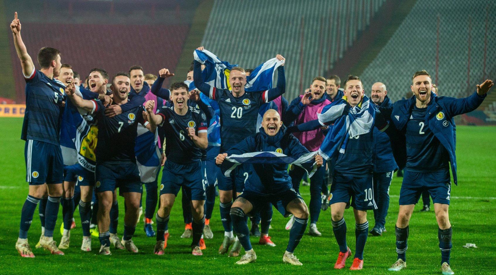The Athletic: игроки сборной Шотландии передумали и встанут на колено в матче Евро-2020