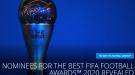 ФИФА опубликовала список претендентов на награду лучшему голкиперу года - The Best-2020
