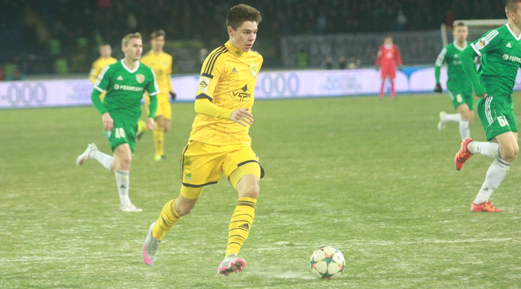 Украинский нападающий перебрался в один из низших дивизионов Греции