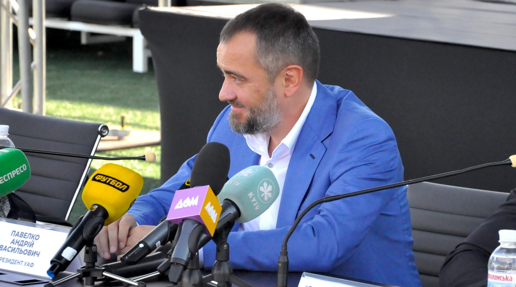 """Андрей Павелко: """"Важно, чтобы УЕФА принял решение сыграть матч на футбольном поле"""""""
