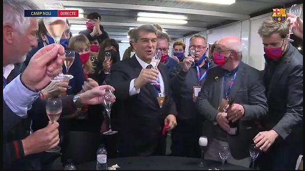 """Жоан Лапорта – президент """"Барселоны"""": первые эмоции и заявления победителя (+Фото, Видео) - изображение 4"""