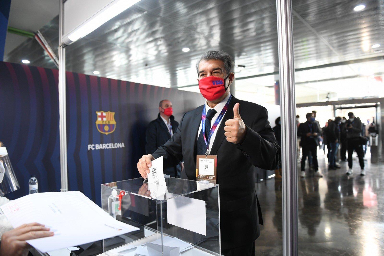 """Жоан Лапорта – президент """"Барселоны"""": первые эмоции и заявления победителя (+Фото, Видео) - изображение 3"""