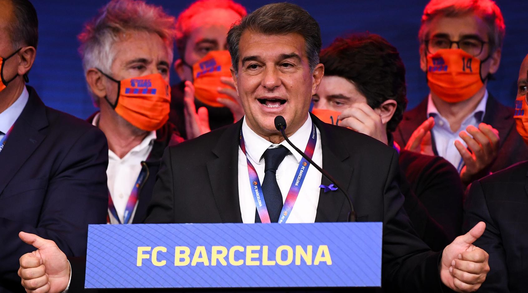 """Президент """"Барселоны"""": """"Мы уверены в победе в Ла Лиге"""""""