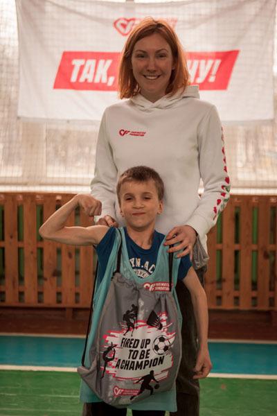 В Ровно прошла инклюзивная тренировка для детей от Parimatch Foundation - изображение 4