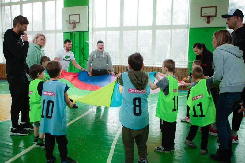 В Ровно прошла инклюзивная тренировка для детей от Parimatch Foundation - изображение 5