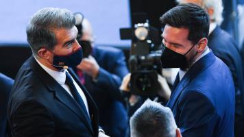 """Президент """"Барселоны"""": """"Надеюсь, в ближайшее время сможем объявить о подписании контракта с Месси"""""""