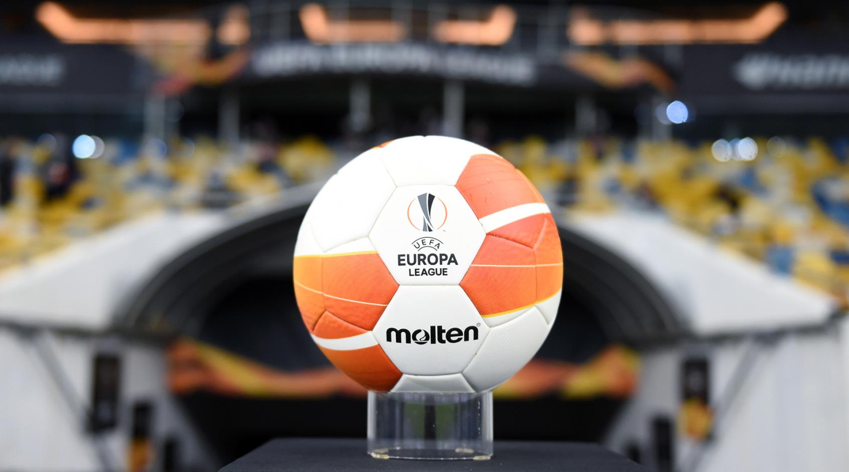 Состоялась жеребьевка раунда плей-офф Лиги Европы