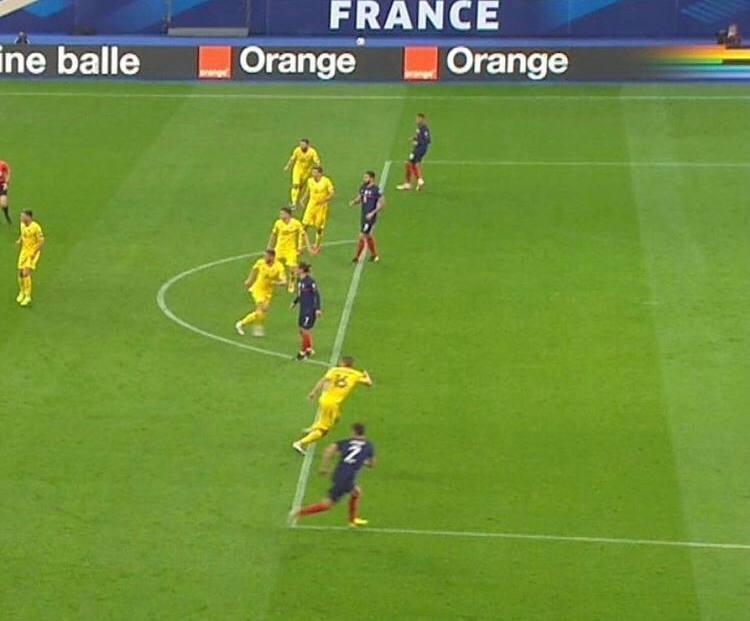 Франция - Украина в цифрах WyScout: сюрприз Шевченко, плотная оборона и голы в стиле FIFA 21 - изображение 15