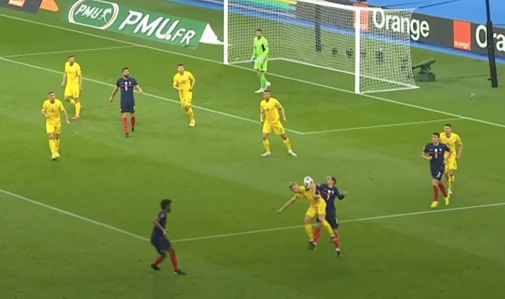 Франция - Украина в цифрах WyScout: сюрприз Шевченко, плотная оборона и голы в стиле FIFA 21 - изображение 16