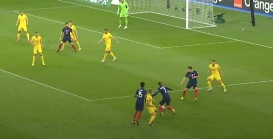 Франция - Украина в цифрах WyScout: сюрприз Шевченко, плотная оборона и голы в стиле FIFA 21 - изображение 17
