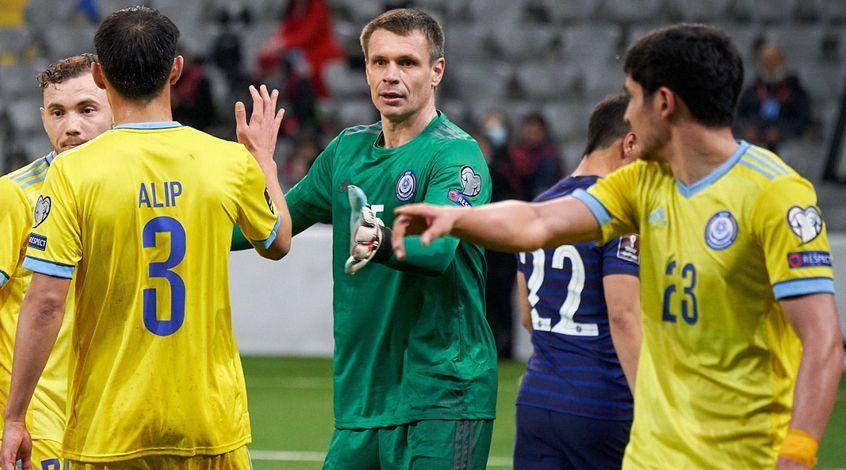 Александр Мокин признан лучшим игроком матча Казахстан – Франция