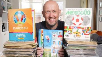 Безумный коллекционер наклеек с Евро и ЧМ, или британец, который потратил на альбомы Panini около 10 тысяч фунтов стерлингов