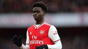 Букайо Сака стал игроком недели в Лиге Европы