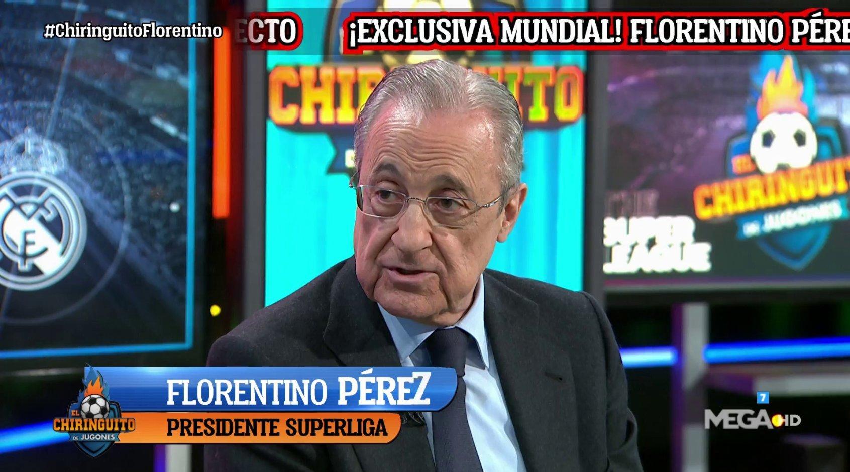 Флорентино Перес - о создании Суперлиги