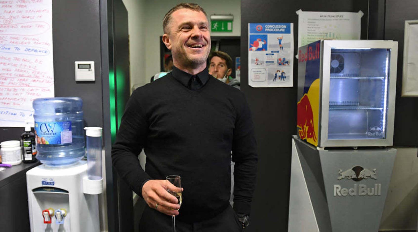 Сергей Ребров - самый успешный иностранный тренер в Венгрии за последние 100 лет
