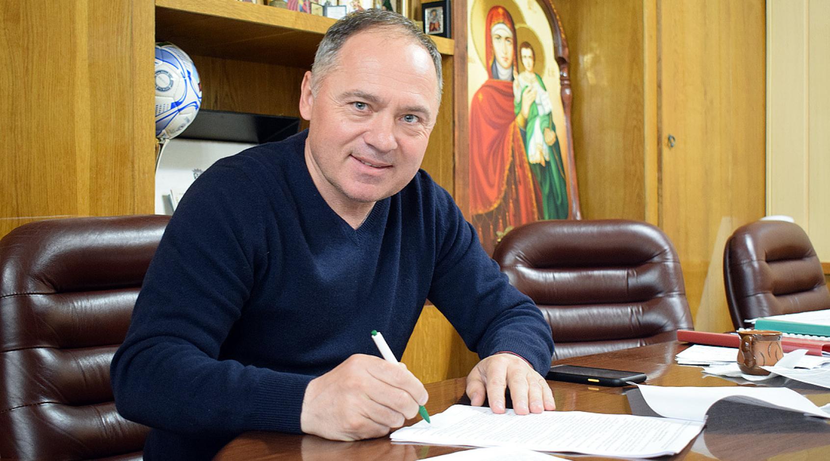 """Віталій Косовський подовжив контракт з """"Ворсклою"""""""