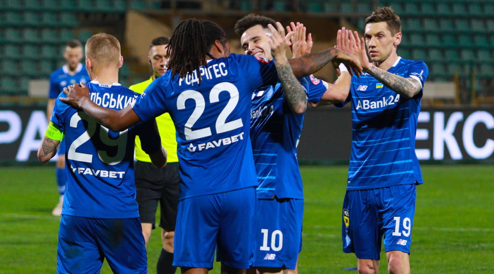"""У """"Динамо"""" самый высокий xG в сезоне, а у их соперников - в два раза меньше, чем у других клубов"""