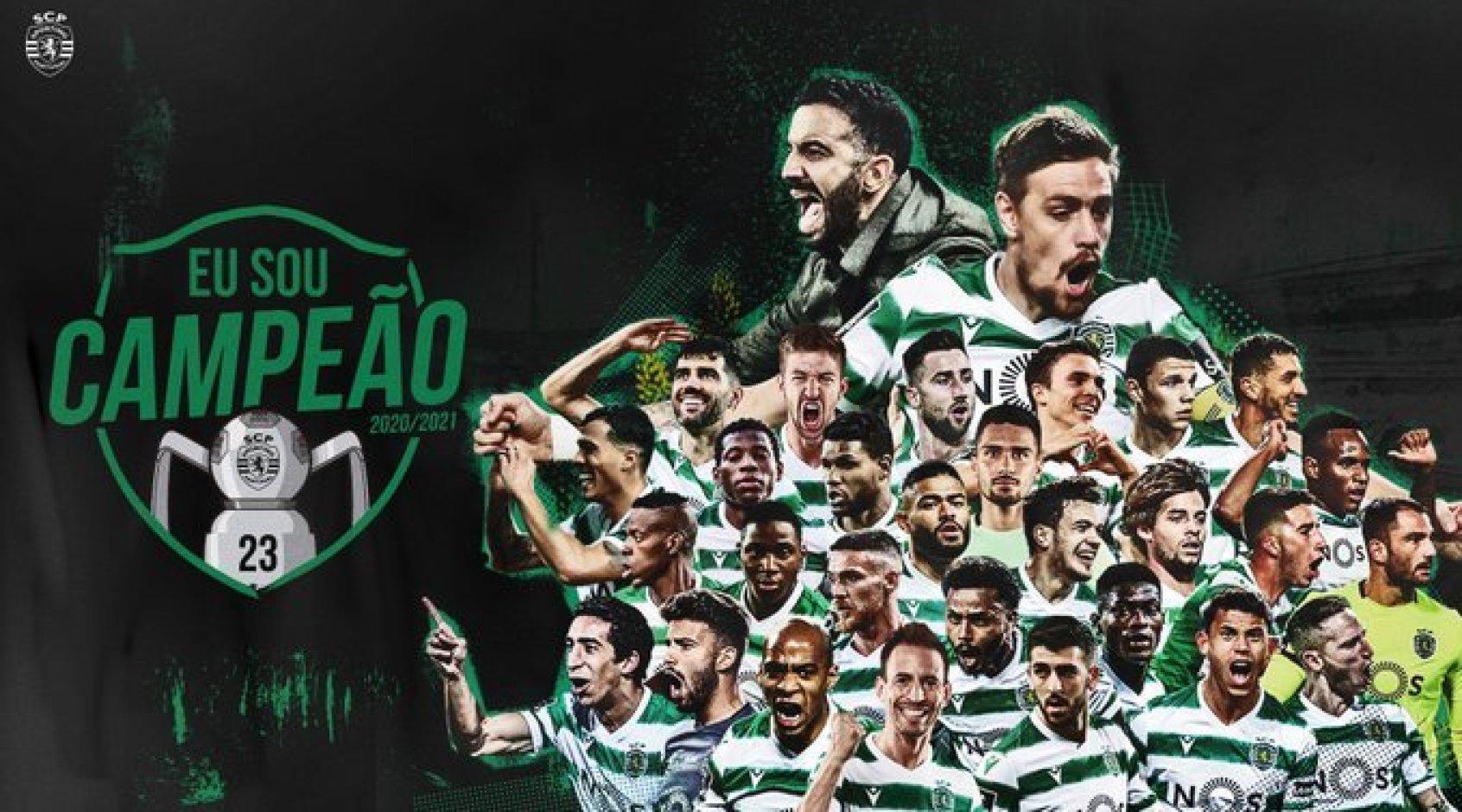 """Лиссабонский """"Спортинг"""" стал чемпионом Португалии - в 19-й раз в истории"""