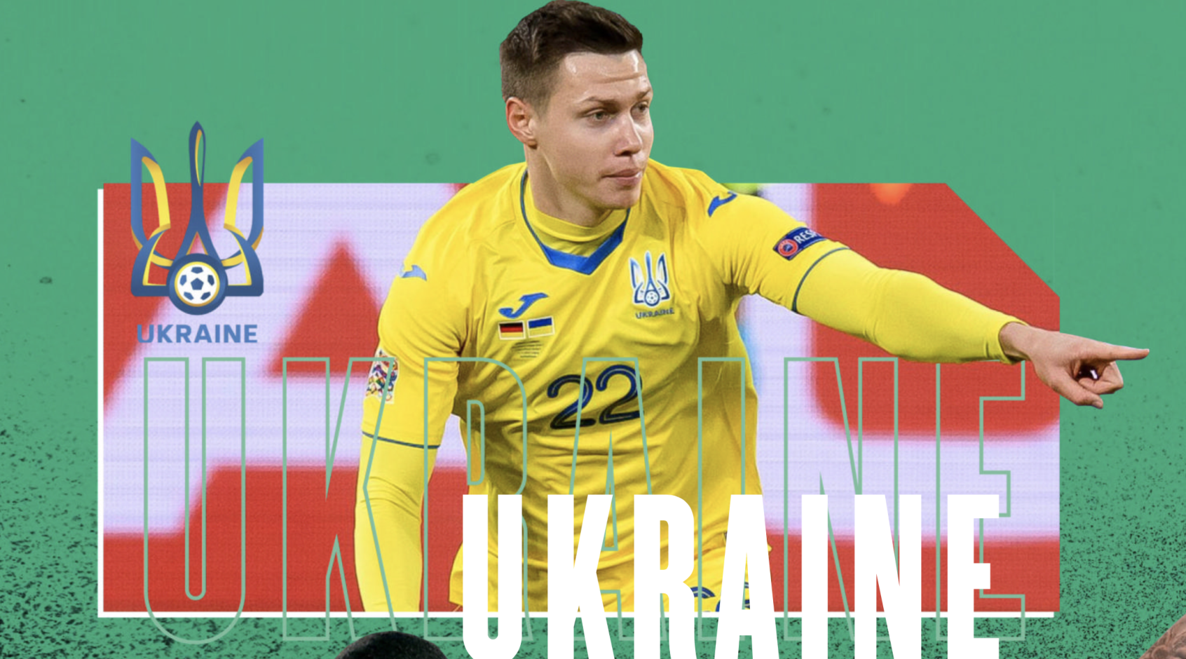 Как журнал FourFourTwo представил сборную Украины и их соперников на Евро-2020