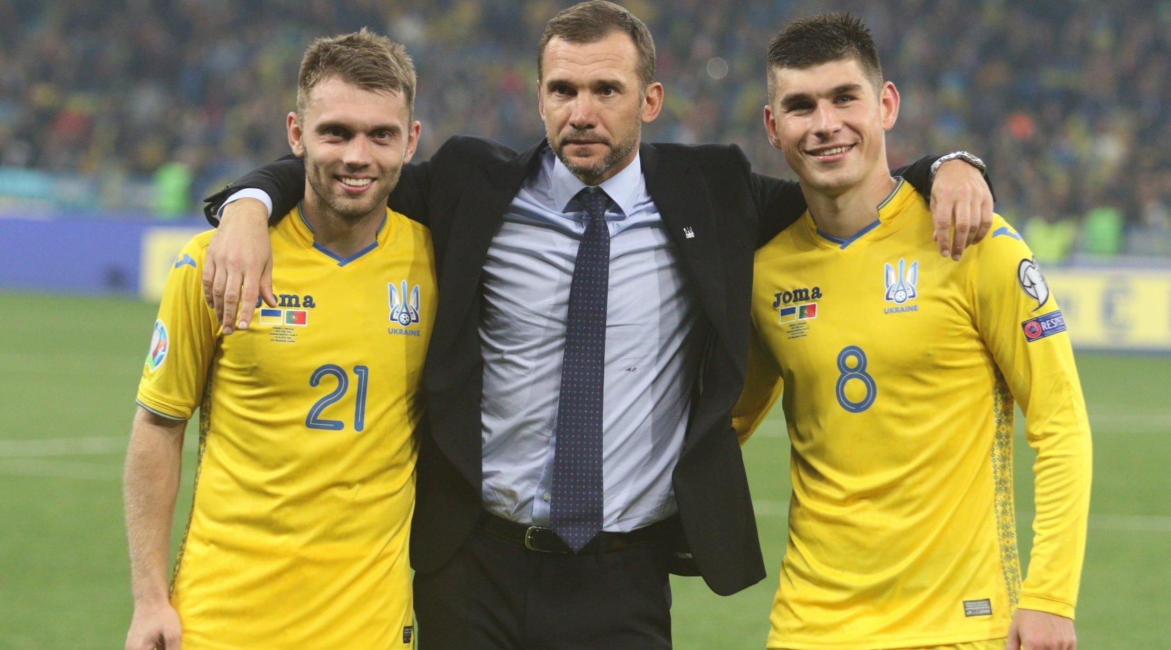 Как журнал FourFourTwo представил сборную Украины и их соперников на Евро-2020 - изображение 1